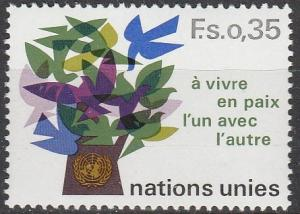 UN Geneva #73  MNH F-VF (V3856)