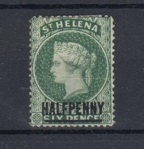 St Helena QV 1893 1/2d On 6d SG36 MH J6395