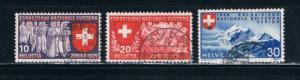 Switzerland 253-55 Used Set (S0309)