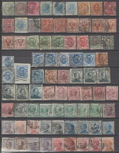 COLLECTION LOT OF #1109 ITALY 78 STAMPS 1863+ CLEARANCE CV=$78