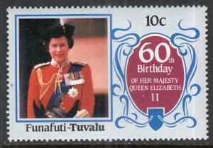 Tuvalu Funafuti 52 Queen Elizabeth II MNH VF