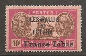 Wallis and Futuna Islands  SC   125  Mint, Never Hinged