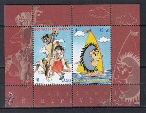 Bosnia & Herzegovina 2005 Cartoons MNH Block