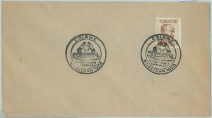 67696 - TURKEY  - POSTAL HISTORY -  Special postmark on COVER 1958 Wrestling