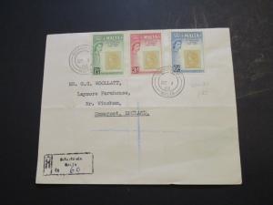 Malta 1960 Stamp on Stamp Series FDC / Folds - Z3645