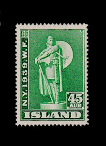 ICELAND 215 MNH