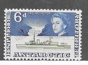British Antarctic Territory  #8 6 p blue(MNH) CV $4.00