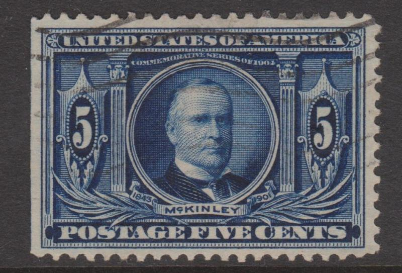 1904 Louisiana Purchase 5c Sc#326 VFU