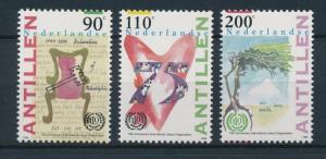 [NA1063] Netherlands Antilles Antillen 1994 Labor Organization MNH # 1063-65