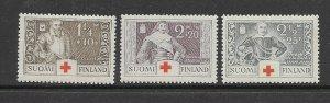 Finland B15-7 MNH cpl. set vf, 2022 CV $16.50