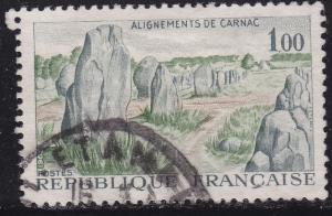 France 1130 Camac Prehistoric Stone Monuments 1965