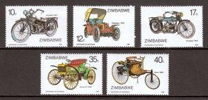 Zimbabwe - Scott #535-540 - MNH - SCV $8.85