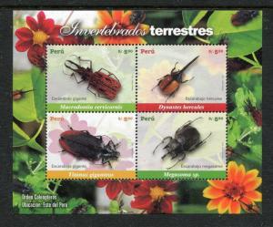 Peru 1590, MNH, Insects  Beetles 2007. x28255
