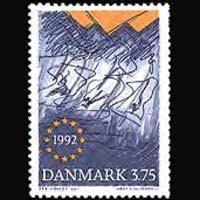 DENMARK 1992 - Scott# 967 European Market Set of 1 NH