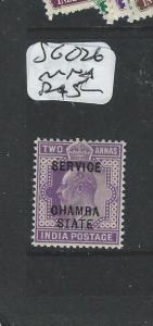 INDIA CHAMBA (P0604B) KE SERVICE 2A   SG O26  OG