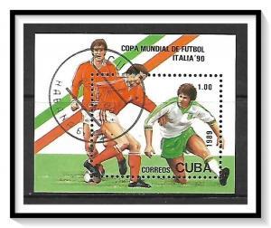 Caribbean #3114 World Cup Soccer Souvenir Sheet CTO