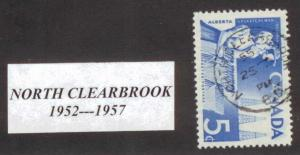 CANADA  BRITISH COLUMBIA CANCEL     NORTH CLEARBROOK