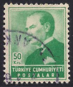 Turkey 1144 Used F-VF