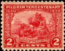 SCOTT # 549 PILGRIM TERCENTENARY ISSUE MINT NEVER HINGED GEM !!!