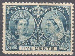 Canada #54 Mint XF OG H C$100.00 -- Jubilee
