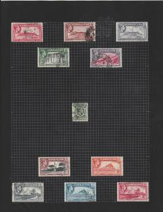gibraltar stamps page ref 17326