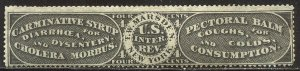 U.S. #RS176a Unused SCARCE - 4c Marsden, Black