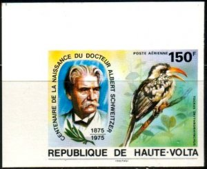 Dr. A. Schweitzer, Birth Cent, Toucan, Burkina Faso SC#C212 MNH Imperf