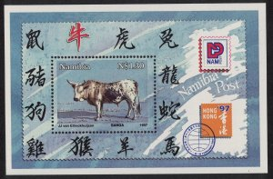 Namibia Chinese New Year of the Ox MS SG#MS705 MI#Block 26 I