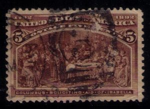 US Scott #234 Used VF