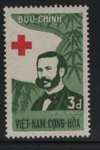 VIETNAM, 137, HINGED, 1960 Henri Dunant