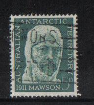Australian Antartic Territory Used  1961 5d Mawson