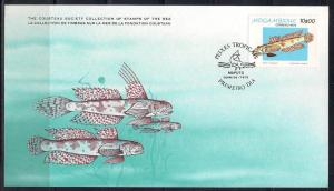 Mozambique FDC card Sc 646 Cousteau Society Gobie L78