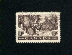 Canada #O26  1   used  1950-51 PD  .20
