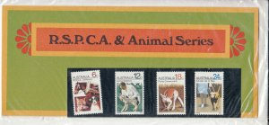 Australia 1971 QEII RSPCA and Animals Presentation Pack Unopened