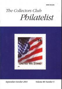 The Collectors Club Philatelist, Vol 80, No. 5, September...