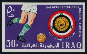 Iraq 406 MNH Sports, Arab Soccer Cup
