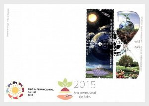 2015  PORTUGAL  -  SG:4319/22  -  YEAR OF SOIL AND LIGHT - SET ON FDC