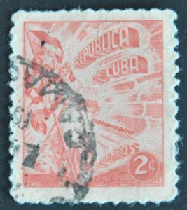 DYNAMITE Stamps: Cuba Scott #446 – USED