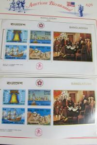 Worldwide Commemorative Stamp Collection in Album