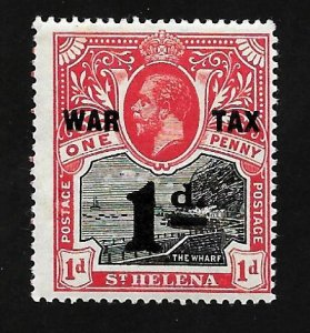 St. Helena 1919 - MNH - Scott #MR2