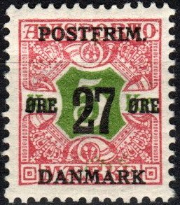 Denmark #143  F-VF Unused CV $6.75 (X5366)