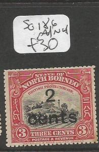 North Borneo SG 186 MNH (9clu)