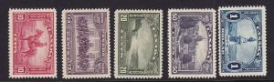 Canada Scott # 223 - 227  VF-XF OG mint never hinged cv $ 182 ! see pic !