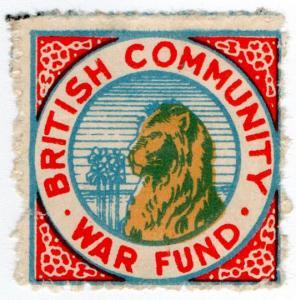 (I.B) India Cinderella : British Community War Fund