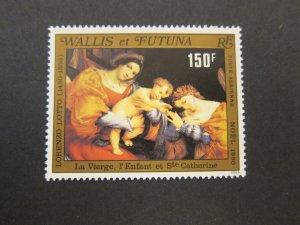 French Wallis and Futuna Islands 1980 Sc 105 Christmas Religion set MNH