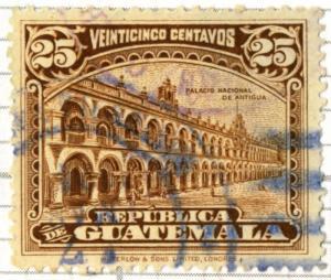 Guatemala - SC #203 - USED - 1922 - Item G138