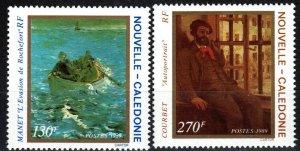 New Caledonia #623-4  MNH CV $10.75 (X7163)