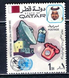 Qatar; 1972: Sc. # 323: */MH Single Stamp