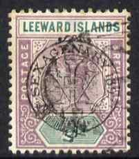 Leeward Islands 1897 QV Diamond Jubilee 1/2d fine used, SG9
