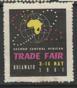 Bulawayo Central Africa Fair Cinderella Poster Stamp Reklamemarken A7P4F777